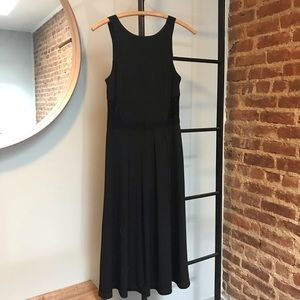 Black tea length dress